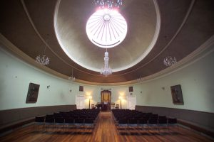 St Cecilia's Hall, Universidad de Edimburgo, Escocia.